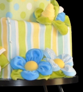 Pattern for Topsy Turvy Diaper Cake