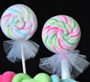 Awesome Wondering How To Make Lollipop Washcloths?