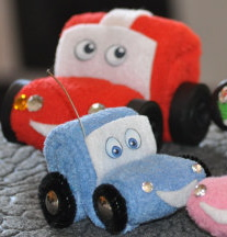 How to Make a Washcloth Car