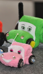 How to Make Washcloth Cars