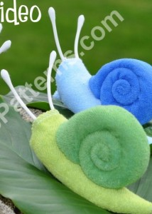 Washcloth Snails