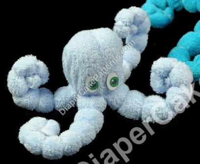 How to make a Washcloth Octopus