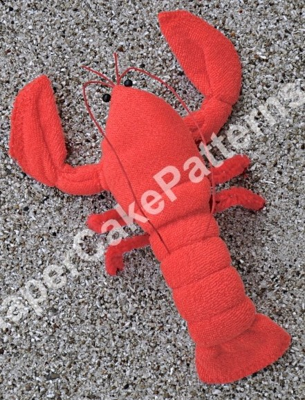 Washcloth Lobsters