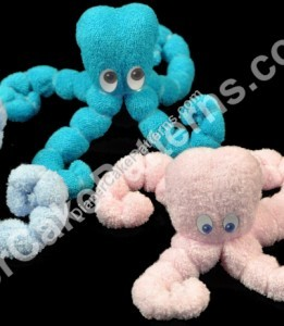 Washcloth Octopus
