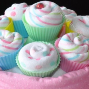washcloth-cupcakes