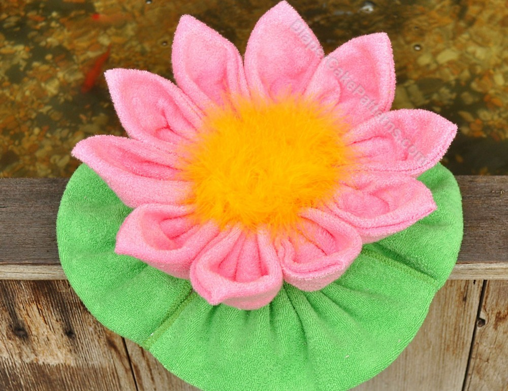 Washcloth Water Lily