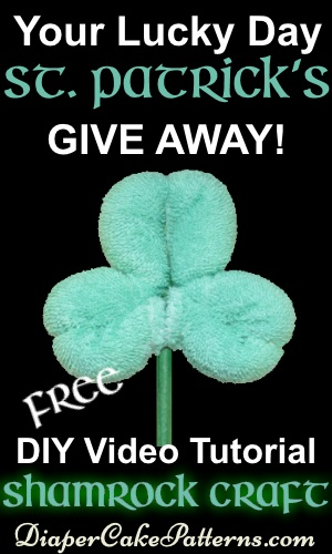 St Patricks Day free shamrock craft giveaway