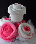 Washcloth Favor Instructions
