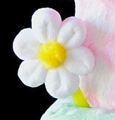 How to make washcloth daisies