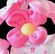 How to make a Washcloth Daisy