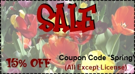 Spring Sale Coupon Code 'Spring'