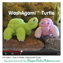 How-to-Make-a-Washcloth-Turtle-Video-Tutorial